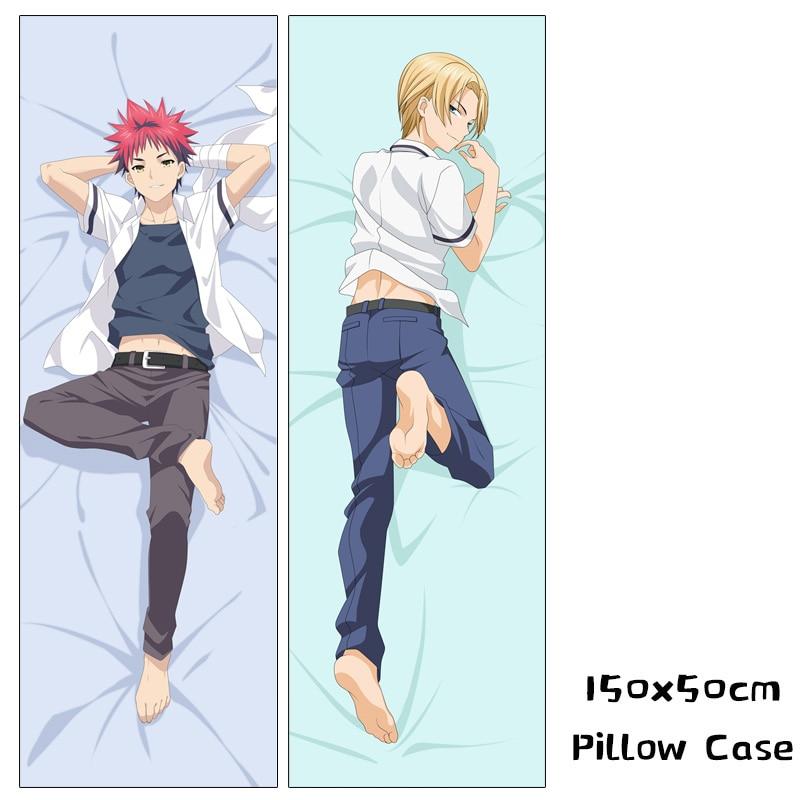 Japanese Food Wars Shokugeki no Soma Erina Nakiri Anime Hugging Body Pillow Case