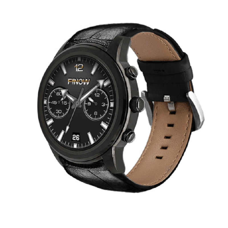 LEM5 FINOW X5 Bluetooth Waterproof Smartwatch WIF GPS Heart Rate 3G SIM Card For Making Calls Is Available For IOS Android 5.1