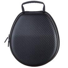 Portable Eva Head-Mount Headset Storage Bag Carrying Bag, Earphone Universal Shockproof