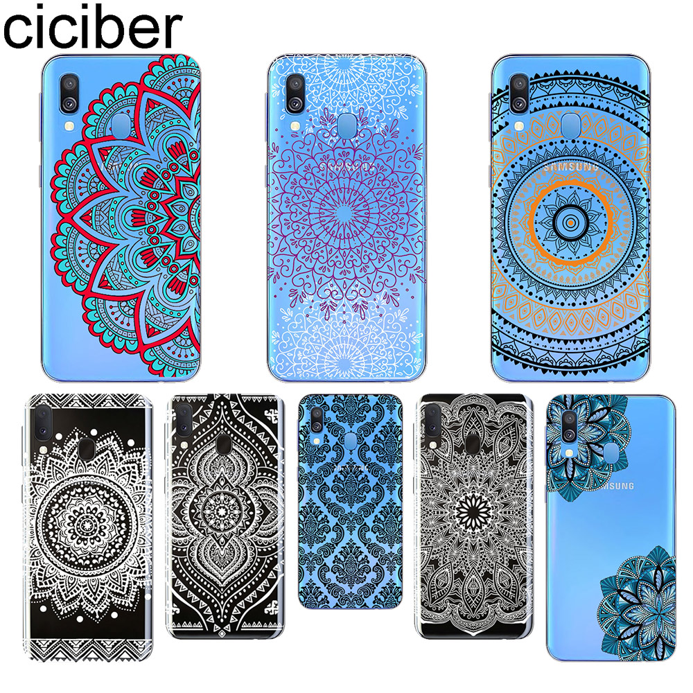 Ciciber Mandala for Samsung A50 A70 A40 Phone Cases for Samsung Galaxy A30 A20 A60 A10 A20e A80 Soft TPU Cover Coque Shell Funda