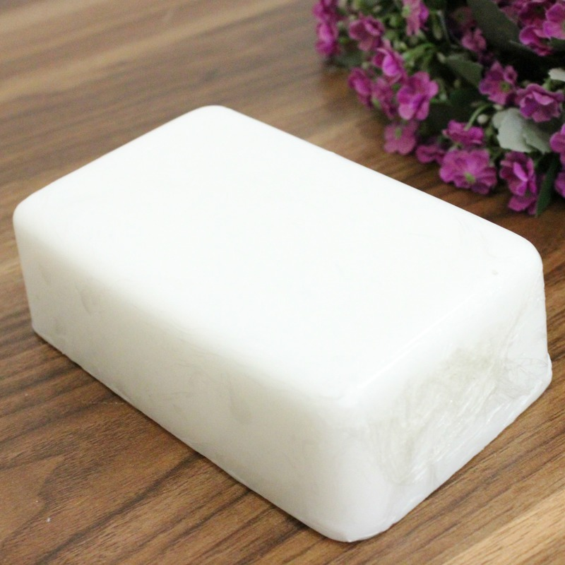 800g high hardness white soap-based vegetable soap-based handmade soap raw material