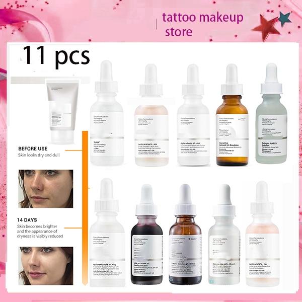 The Ordinary Peeling 30ml Face Hyaluronic Acid Serum AHA 30% + BHA 2% Peeling Solution Remove Acne Scars Whitening Skin Care
