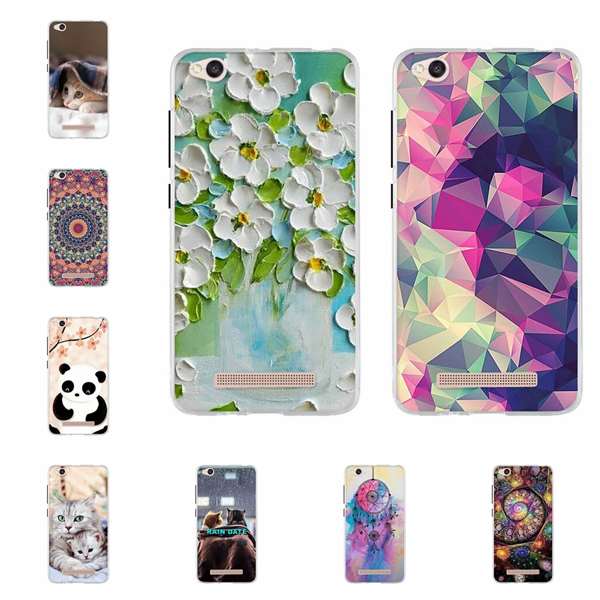 Silicone Case For Xiaomi Redmi 4A Back Cover Soft TPU 5.0 Inch Xiaomi Redmi 4A Case Cover For Fundas Redmi4A Coque Phone Cases