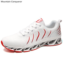 Mountain Conqueror 2019 New Shoes Men Classic Air Mesh Comfortables Casual Lightweight Jogging Sports Sneakers