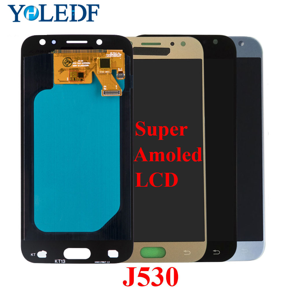 AMOLED LCD For SAMSUNG Galaxy J5 Pro 2017 J530 J530FM J530F LCD Display Touch Screen Panel Replacement Parts 100% Tested
