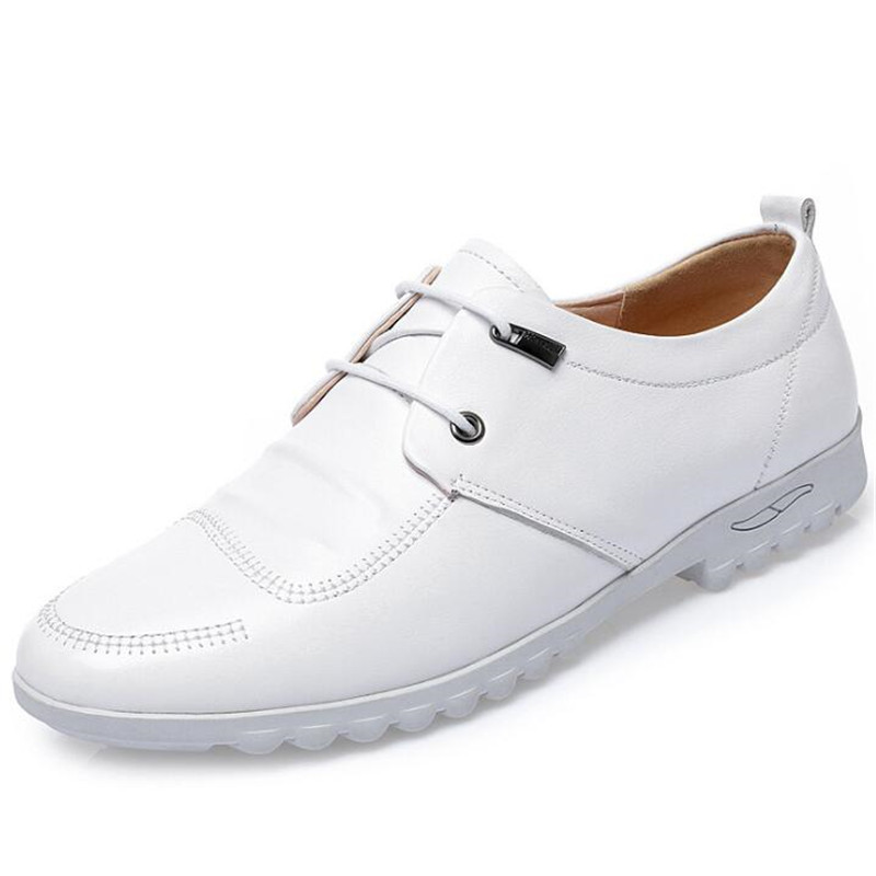 Genuine Leather Shoes Men Shoes Spring