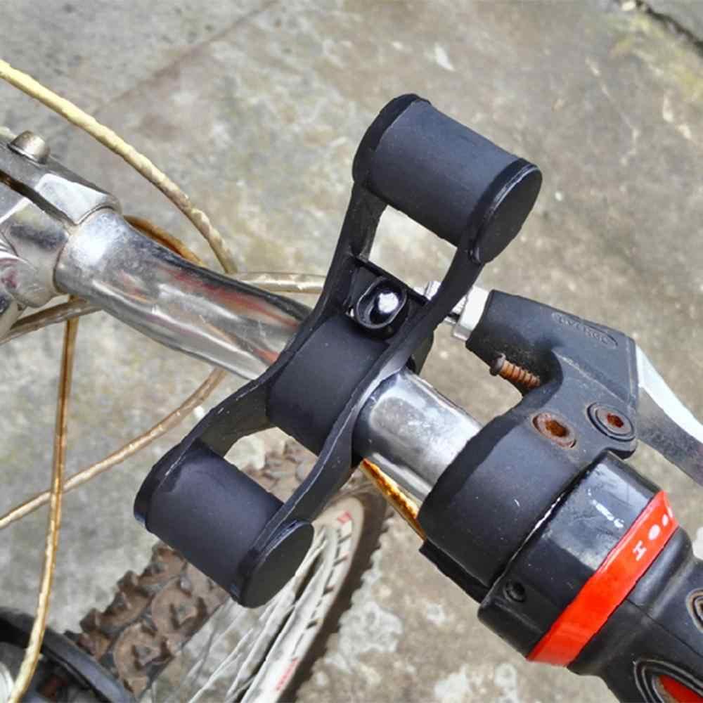 Guidon de vélo Support étendu vélo phare montage barre Support de téléphone lanterne lampe Support Support Support 100MM