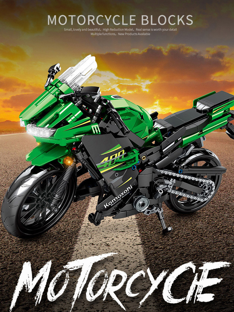 SEMBO 702pcs Technic Motorcycle MOTO off load Car Creator Expert Building Blocks City