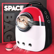 Pet Dog Cat Backpack Travel Carrier Double Shoulder Bag Space Capsule Small Handbag Carrying AEZLZ256