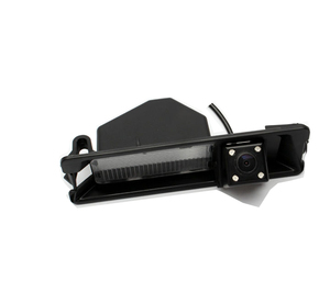 Image 3 - CCD CCD Night 4 LEDS Special Car Rearview Rear View Reverse backup Camera For Nissan March Renault Logan Renault Sandero W