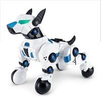 Interactive Remote Control Robot Dog Toy Smart Dancing Robot Toy Pet Dog Interactive Brinquedo Cachorro Birthday Gift BA60DZ