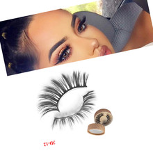 extra long false eyelashes vendor wholesale thick 3d mink with custom eyelash package