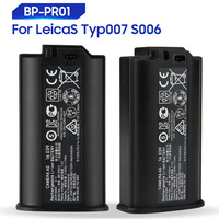 Original Replacement Battery For Leica LeicaS Typ007 S006 S007 16039 BP PR01 Genuine Battery 2.30Ah 17Wh