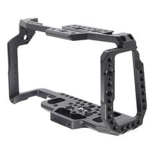 هيكل قفصي الشكل للكاميرا ل BMPCC 4K فيلم فيديو فيلم قفص الإفراج السريع لوحة ل Blackmagic جيب سينما كاميرا 4K/6K
