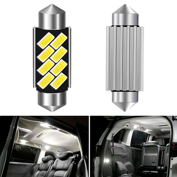Car Interior Light 31mm 36mm 39mm 41mm LED Bulb CANBUS C5W Festoon For Audi Volkswagen Mercedes Benz W210 BMW E36 E46 E90 E60 image