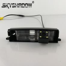 Автомобиль CCD ночного видения 4LED резервная камера заднего вида помощь при парковке Для Toyota RAV4 2009 2010 2011 2012 Chery Tiggo relid X5 A3