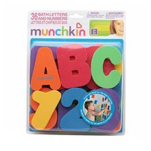 Foam-Stickers Shower-Toys Bath-Tub Baby Kids Children Letter Floating 10-Numbers