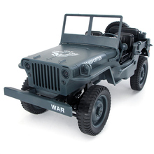 Q65 RC Car Remote Control Military ABS Off-Road With Light Simulation 2.4G Toys Kids Gift 1:10 Four-Wheel Drive Convertible