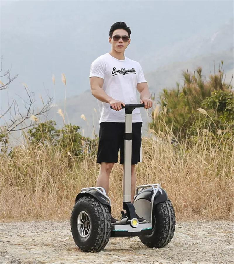Daibot Off Road Electric Scooter Adults Two Wheels Self Balancing Scooters 2400W 60V Hoverboard Skateboard With APPBluetooth (2)