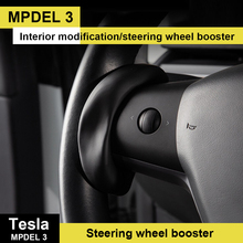 For Tesla Model 3/Y/X/S Counterweight Ring Autopilot FSD Automatic Assisted Driving AP Steering Wheel Booster Car Accessories
