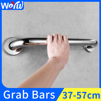 Stainless Steel Handrail Disabled Shower Bathtub Safety Handle Wall Mounted Bathroom Grab Bars for Elderly Towel Rack taken on airplane durable folding electric wheelchair for disabled and elderly