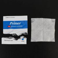 50 sztuk promotor przyczepności aplikator z gąbką podwójna taśma Vinyl Wrap Primer 94 M4YD w Uszczelniacz silikonowy od Majsterkowanie na