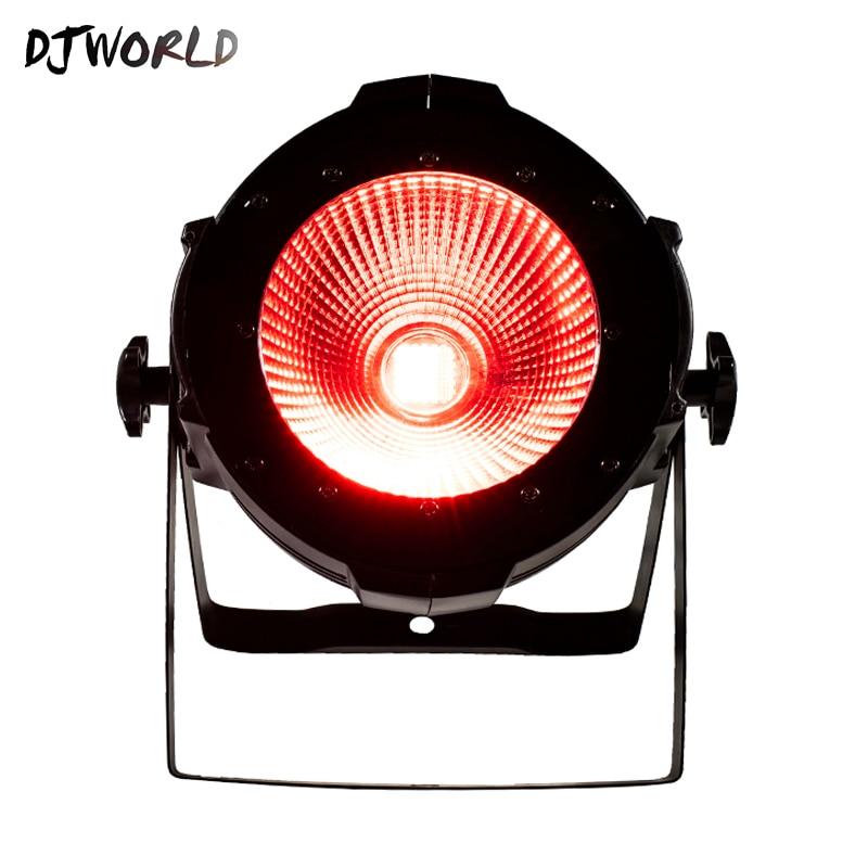 DJworld LED 200W COB LED Par Aluminum Alloy With Barn Doors 6in1 RGBWA UV Lighting Lamp DMX For Stage Effect DJ Disco Lighting