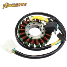 Positive Three-Hole 18 Stage Motocross DC Stator Coil High Performance DC Magnet Stator Coil For GN And GS Electric Start Engin