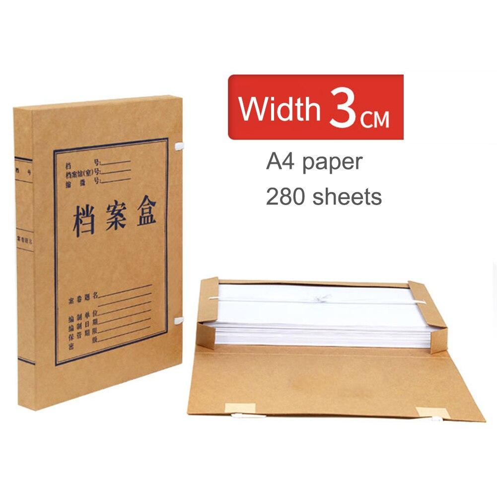 Portable A4 Document File Box Storage Bag Files Folder Lightweight Business Organizer File Box