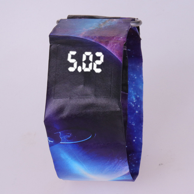 2020 Trendy DIGITAL LED Watch Paper Water/Tear Resistant Watch Perfect Gift 15 3