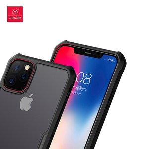 Image 4 - For iPhone 11 Pro Case Xundd Shockproof Case Transparent PC+TPU Bumper Phone Cover for iPhone 11 Pro Max Case With Ring чехол