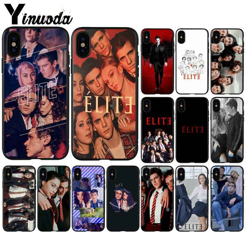 Yinuoda TV Spanyol Seri Elite Novelty Fundas Phone Case untuk iPhone X XS Max 6 6 S 7 7 Plus 8 8 PLUS 5 5S SE XR 11 11pro Max