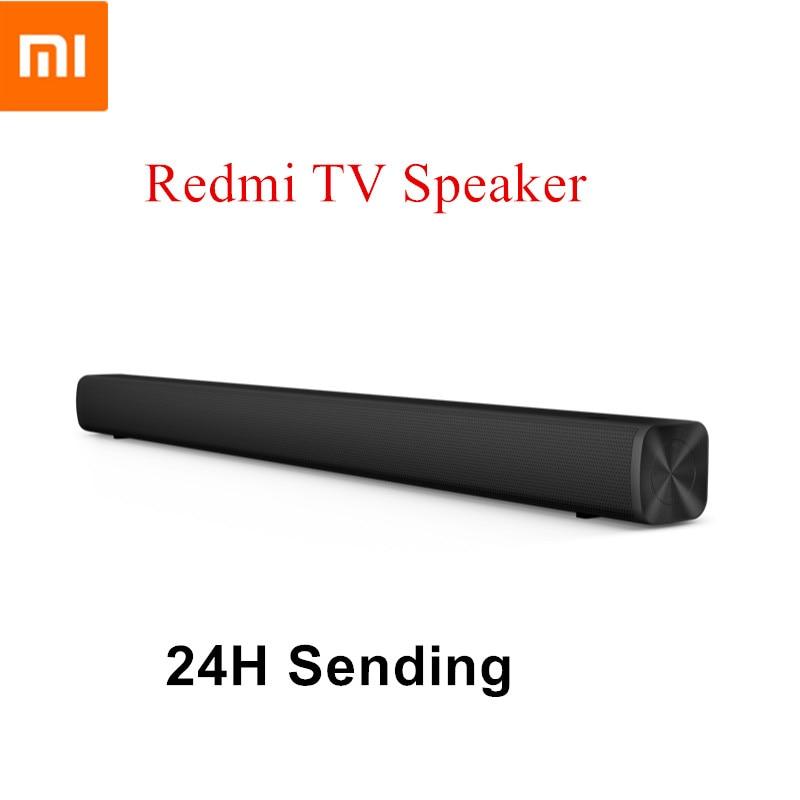 InStock Xiaomi Redmi TV Speaker TV Sound Bar Wired&Wireless Bluetooth 5.0 Home Surround SoundBar Stereo For PC Theater Aux 3.5mm
