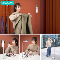 USAMS Foldable Holder for Phone Stand Arm Stand Clip Holder Tablet Mounting for Makeup Phone Stand Live Show Wireless Remote Control