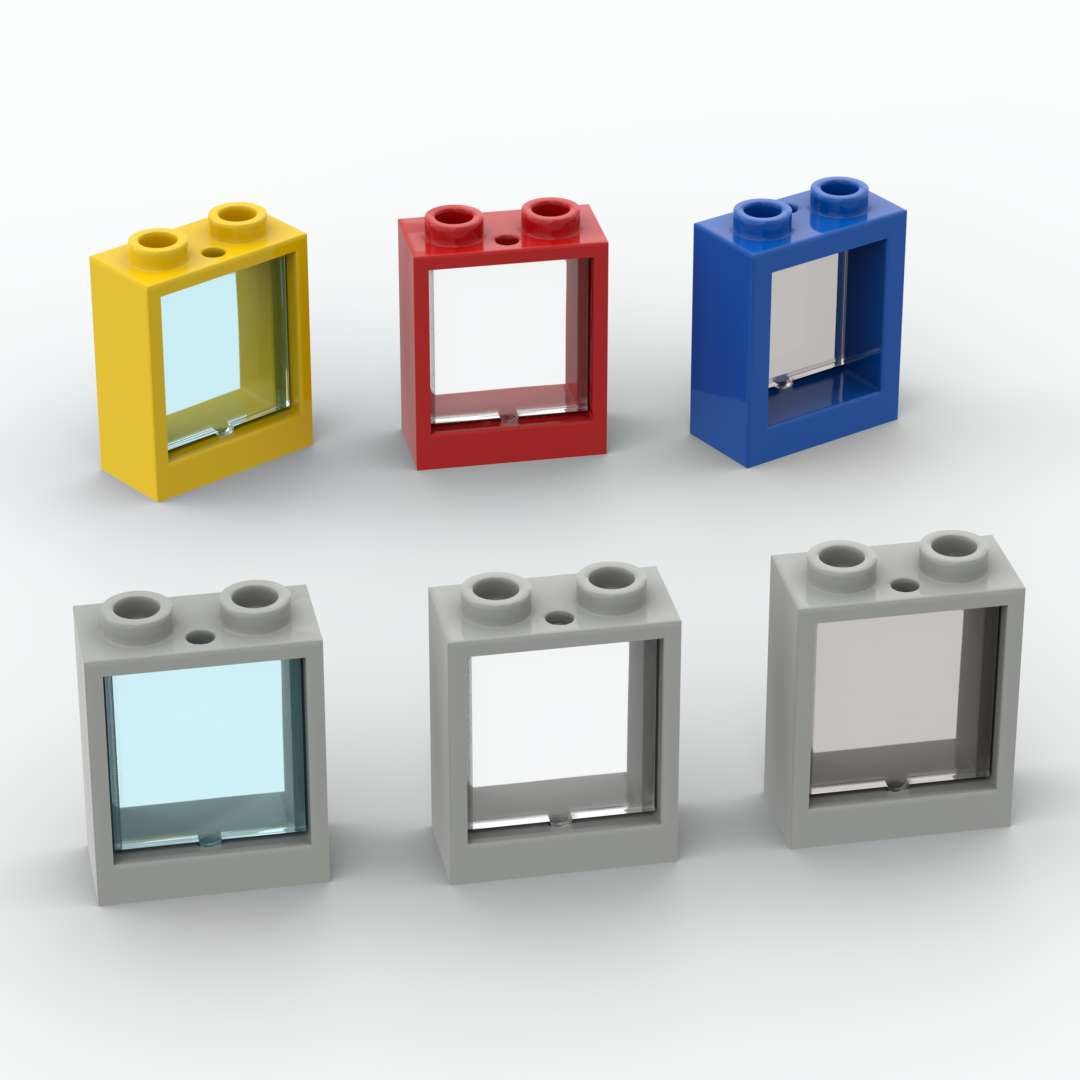 Строительные блоки 10 шт./лот Windows 60592 1x2x2 и 60601 Trans Glass для окна 1x2x2 сборные детские игрушки «сделай сам»