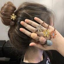 Корейское модное ювелирное изделие резинка для волос женщин