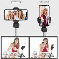 Bluetooth селфи-палка со штативом из пластикового сплава, селфи-Палка для телефона, смартфона, селфи-Палка для Iphone, samsung, huawei 5