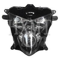 Para Suzuki GSXR GSX R 600 750 K4 2004 2005 Motocicleta Frente Farol Head Light Lâmpada Farol Montagem GSXR750 GSXR600|  -