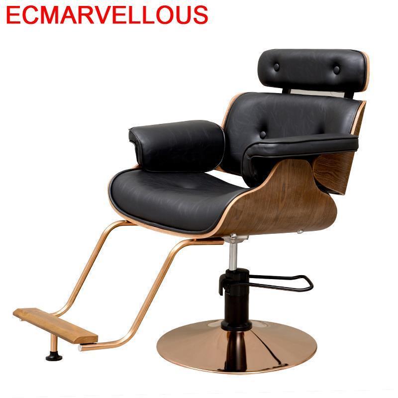 Cabeleireiro Barberia maquillage Kappersstoelen meubles Salon De beauté De Belleza barbier Barbearia Cadeira Silla chaise De barbier