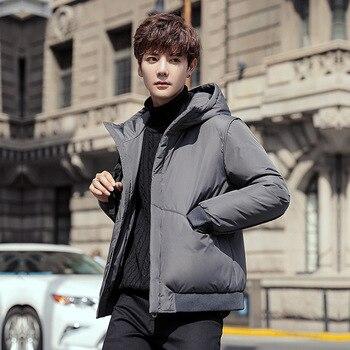 Winter Men Down Jacket Boys Down Coat Men Winter Jacket Male Outerwear M L XL XXL XXXL