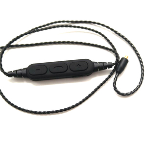 Image 3 - MMCX אלחוטי Bluetooth כבל שדרוג מודול חוט 3.5 MM/TYPE C/bluetooth מחבר נפח שליטה עם מיקרופון אוזניות כבל