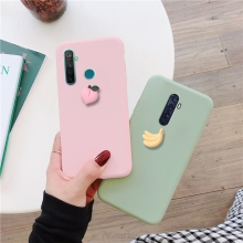 cute 3D fruit case on for oppo realme xt