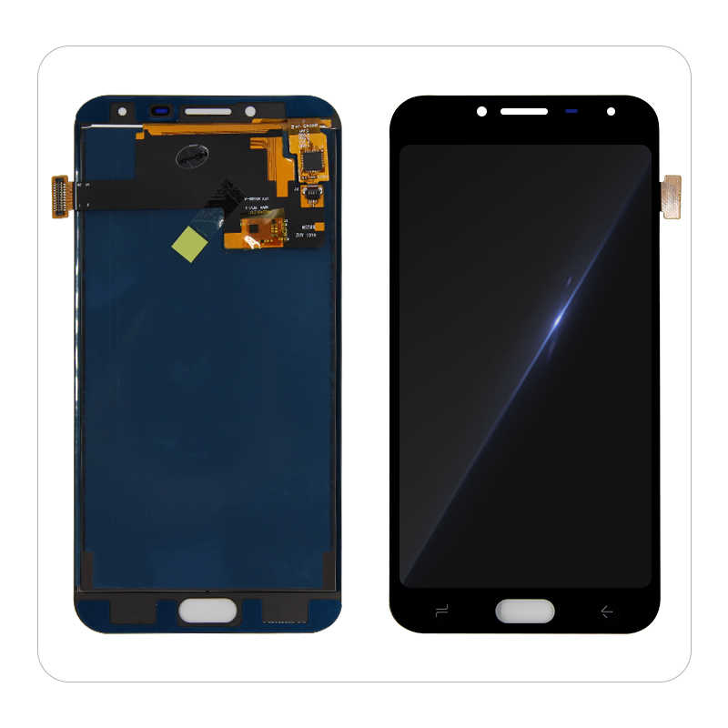 J400 لسامسونج غالاكسي J4 2018 J400 J400F J400H J400P J400M J400G شاشة إل سي دي باللمس محول الأرقام قطع غيار الشاشة