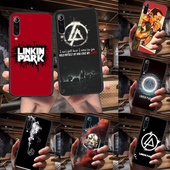 Band Linkin Rock and parks Phone Case For Xiaomi Mi Note 10 A3 9 MAX 3 A2 8 9 Lite Pro Ultra black Waterproof 3D Funda Painting image