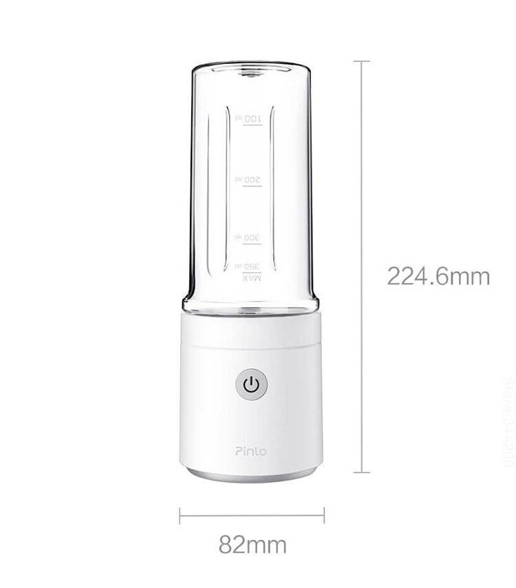 H1df6ac1d0fdd4c75897fa604043966dc4 New XIAOMI MIJIA Pinlo Blender Electric Kitchen Juicer Mixer Portable food processor charging using quick juicing cut off power