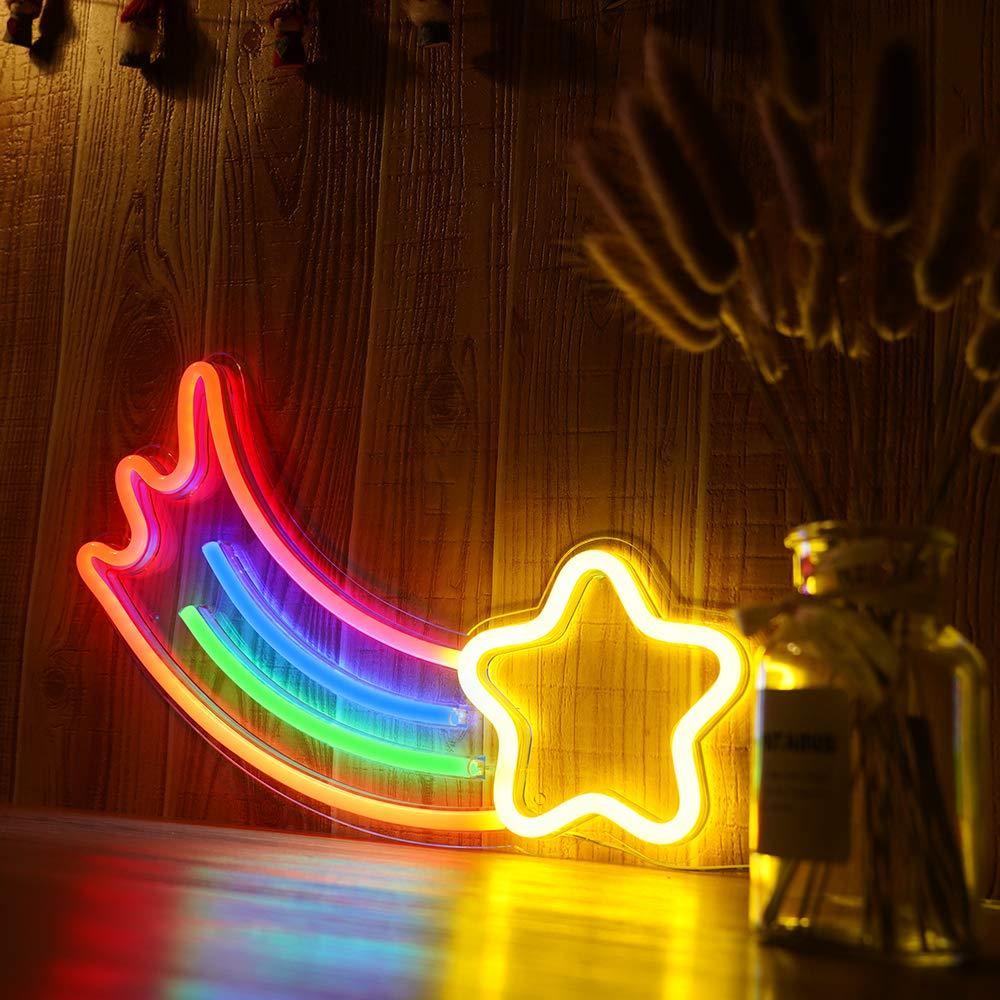 arte da parede decoracao natal luzes 04