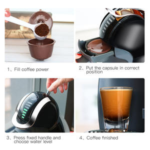 Coffee-Capsule Refillable Dolce Gusto Nescafe