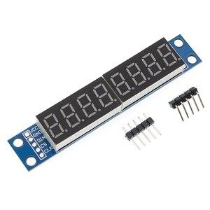 Image 2 - 10PCS/LOT MAX7219 Led Module 8 Digit 7 Segment Digital LED Display Tube MCU 100% new original