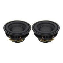 AIYIMA 2Pcs Portable Full Range Audio Speaker Driver 3W 4Ohm 33MM Stereo Loudspeaker Multimedia Column For Home DIY