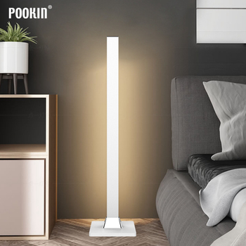 Modern Minimalist Floor Lamp LED Remote Control Floor Lights Indoor Touch Dimming Living Room Bedroom  Standing Lamp Decor Light classic plastic pe outdoor waterproof led floor lamp remote control rechargeable led glowing flower pot floor boughpot